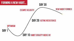 habit gravity and skill velocity
